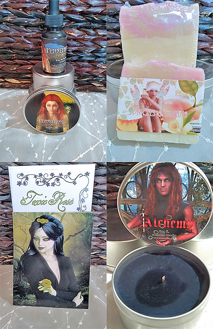 Ivy and Bat Sample products