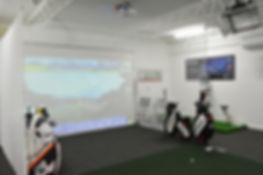 Indoor golf coaching facilities