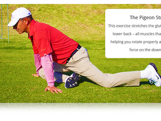 4 Dynamic Stretches for Better Golf