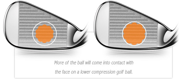 low compression golf balls