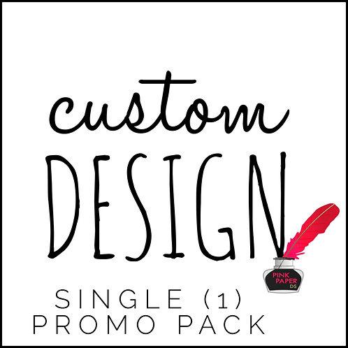 1 Custom Designed Promo Ad