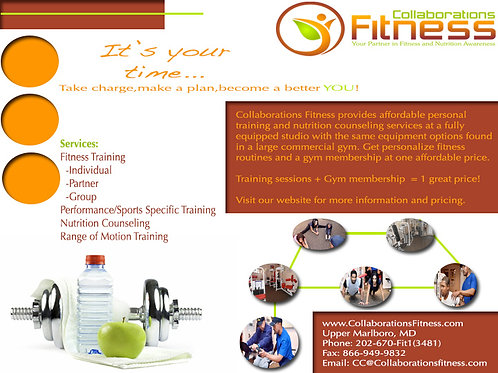 Personal Trainer Postcard
