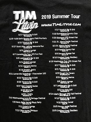 """""""2019 Summer Tour"""" T-Shirt"""