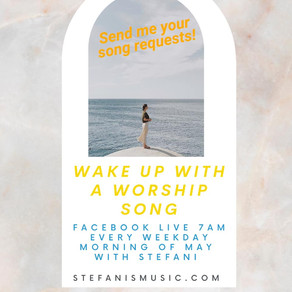 Wake up with a worship song 🙌