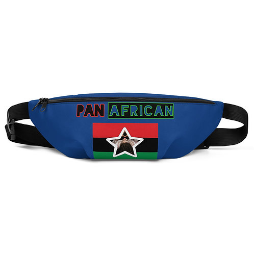 Blue Proud Pan African Fanny Pack