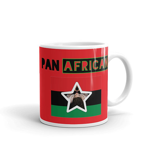 Red Proud Pan African Mug