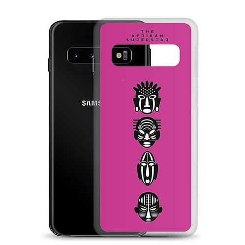 Designer Pink Quad Samsung Case