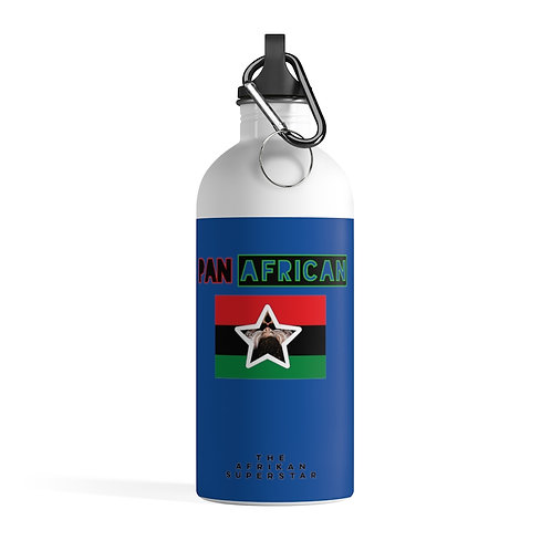 Blue Proud Pan African Stainless Steel Water Bottle