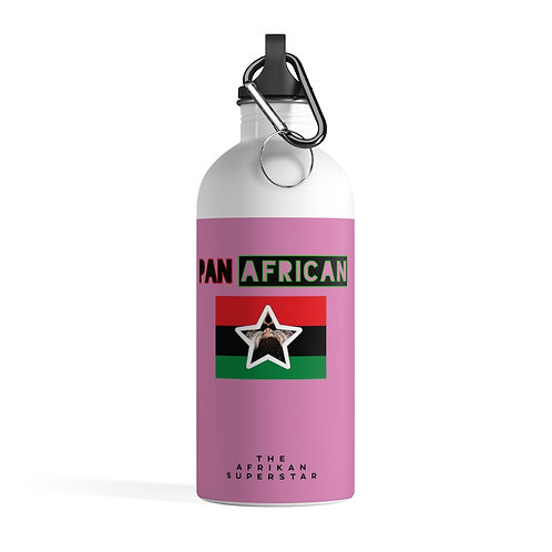 Pink Proud Pan African Stainless Steel Water Bottle