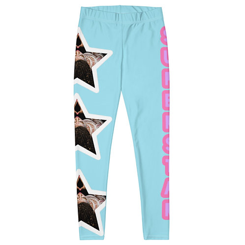 "Blue ""Superstar"" Leggings"
