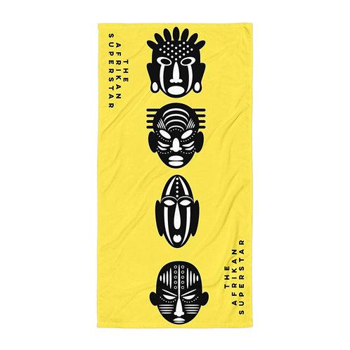 Yellow Quad Mask Towel