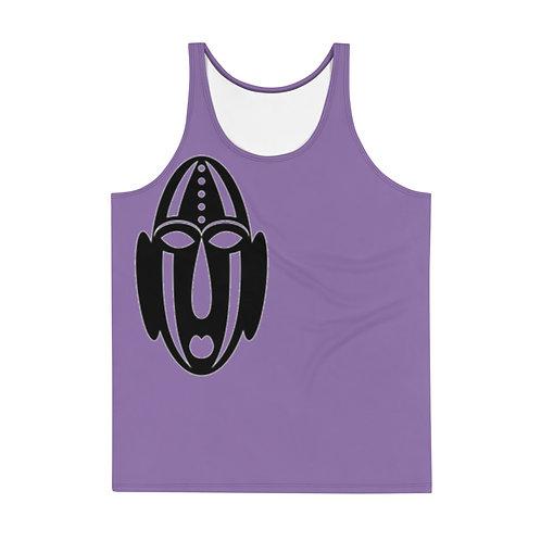 Men's Purple Mask Tank Top