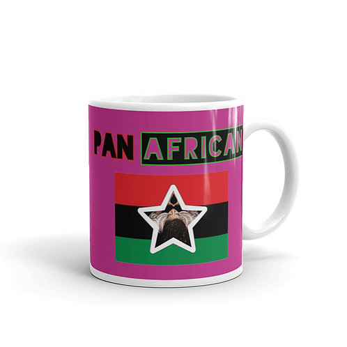 Pink Proud Pan African Mug