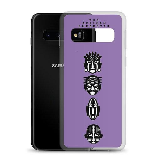 Designer Purple Quad Samsung Case