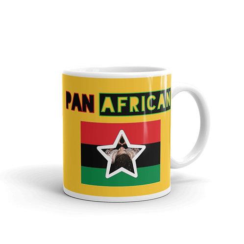 Yellow Proud Pan African Mug