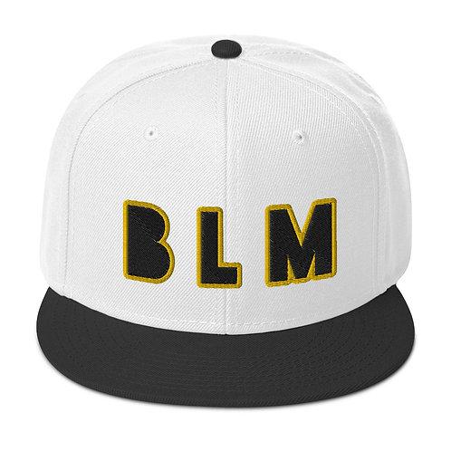 Yellow/Black BLM Black Lives Matter Snapback Hat