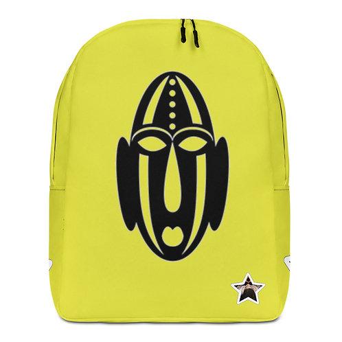 Lime Mask Minimalist Backpack