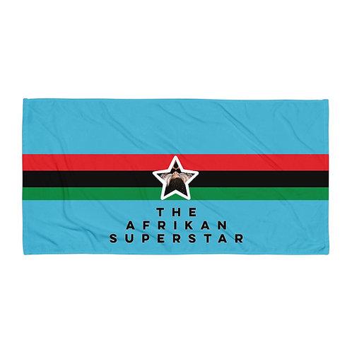 Blue Pan African Towel