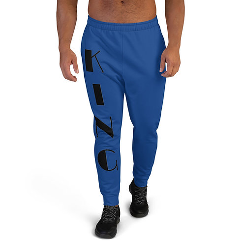 "Blue ""King"" Men's Joggers"