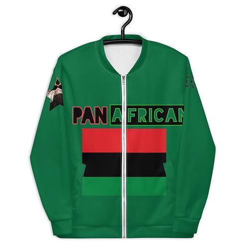Green Proud Pan African Unisex Bomber Jacket