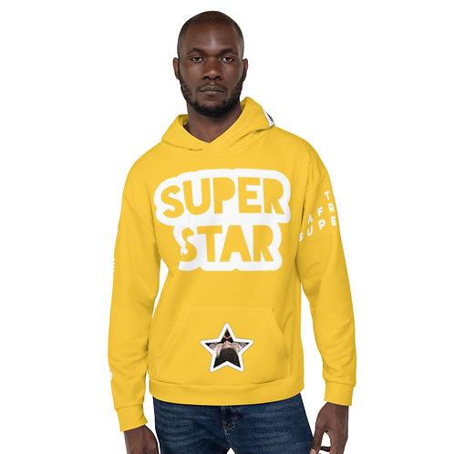 Yellow Quad Superstar Pan African Unisex Hoodie