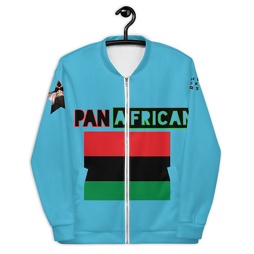 Blue Proud Pan African Unisex Bomber Jacket