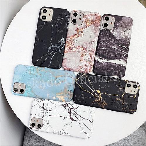 Designer Marble Texture Granite Stone Case