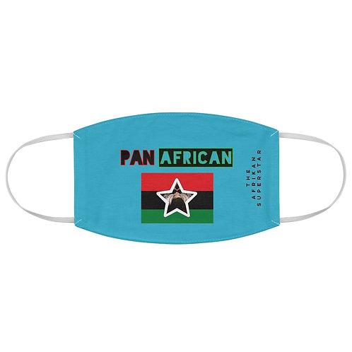 Blue Proud Pan African Fabric Face Mask
