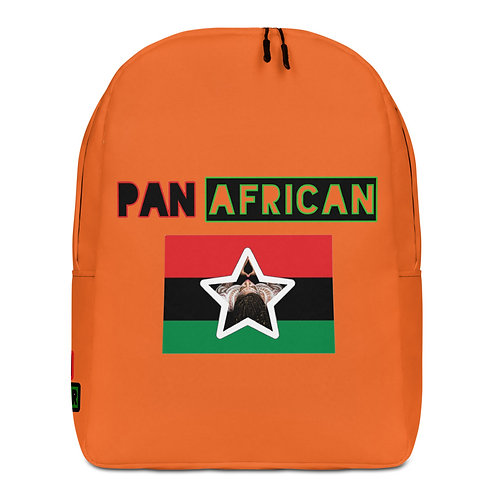 Orange Proud Pan African Minimalist Backpack