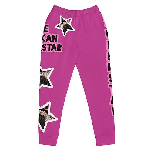 """Pink """"Superstar"""" Women's Joggers"""