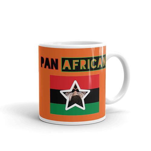 Orange Proud Pan African Mug