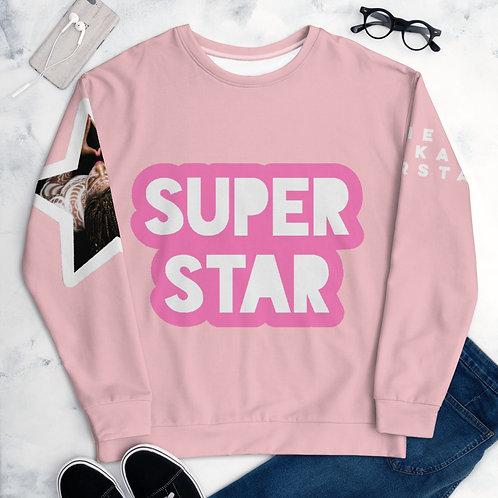 Pink Superstar Unisex Sweatshirt