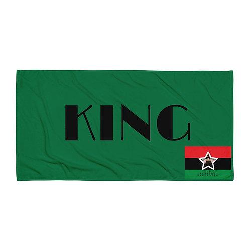 Green Pan African King Towel