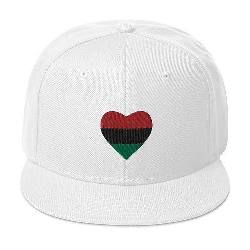 Love Pan African Snapback Hat