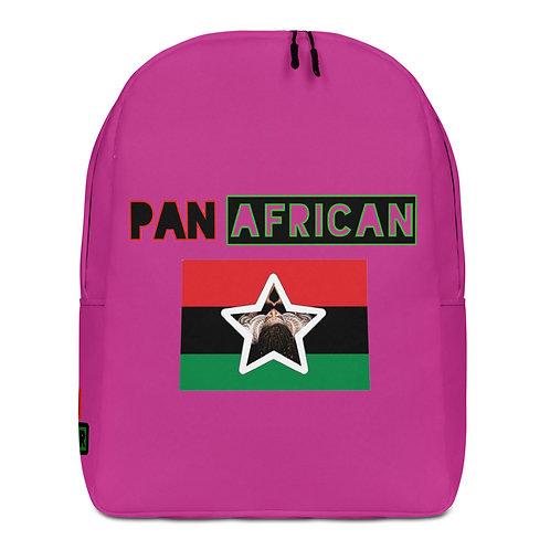Pink Proud Pan African Minimalist Backpack