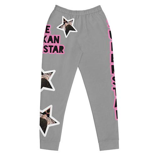 "Grey ""Superstar"" Women's Joggers"