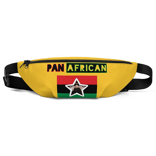 Yellow Proud Pan African Fanny Pack