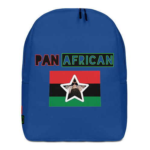 Blue Proud Pan African Minimalist Backpack