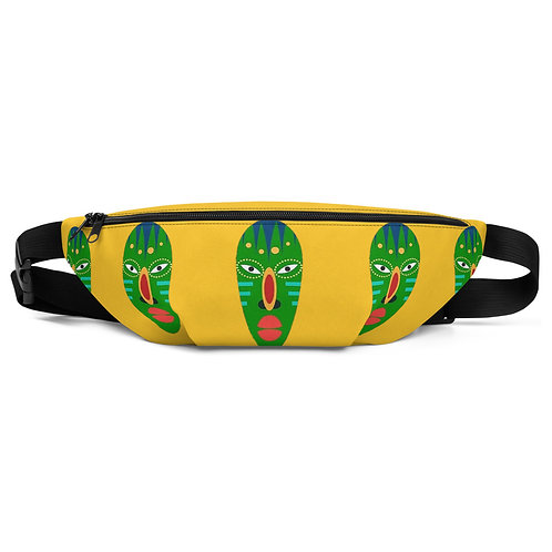 Yellow Mask Fanny Pack