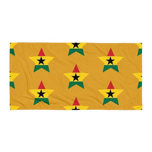 Mustard Ghana All Star Towel