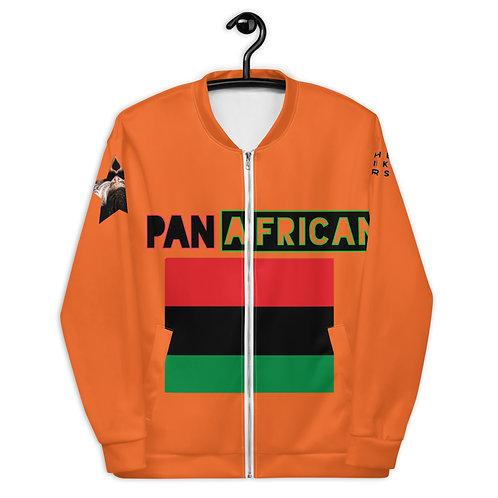 Orange Proud Pan African Unisex Bomber Jacket
