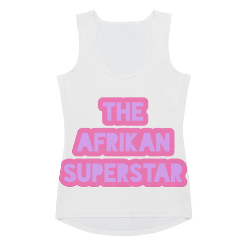 "White ""Superstar"" Tank Top"