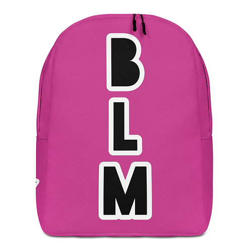Pink BLM Minimalist Backpack