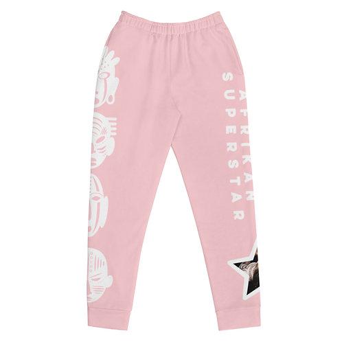 Pink Quad Mask Women's Joggers
