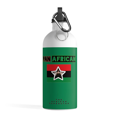Green Proud Pan African Stainless Steel Water Bottle