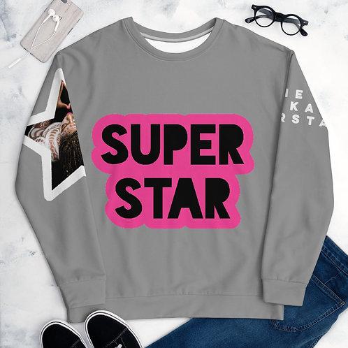 Grey Superstar Unisex Sweatshirt