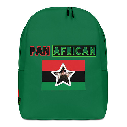 Green Proud Pan African Minimalist Backpack