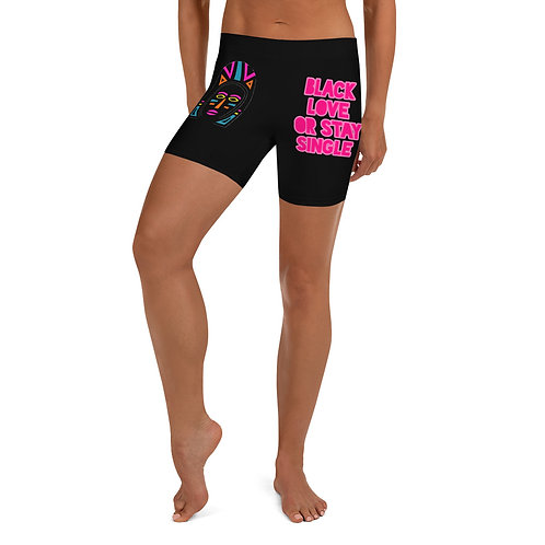 "Black Explosion ""Black Love or Stay Single""Shorts"