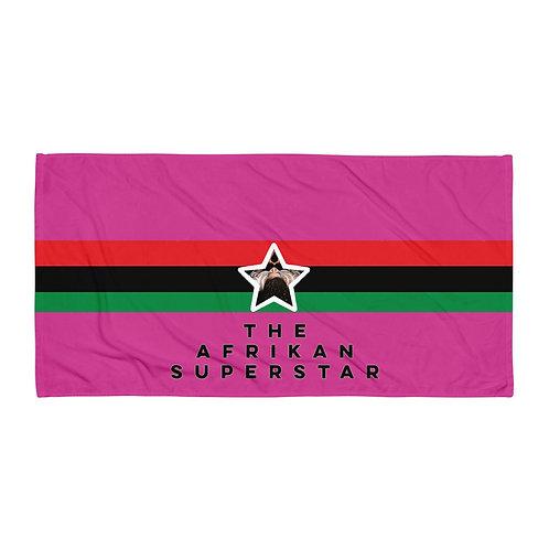 Pink Pan African Towel
