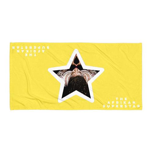 Yellow Star Logo Towel copy